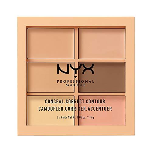 NYXProfessionalMakeup(ニックスプロフェッショナルメイクアップ)コンシールコレクトコントゥアーパレット01カラー・ライトコンシーラー1.5g