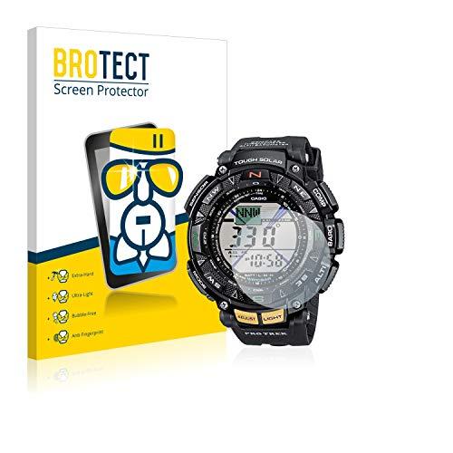 brotect Pellicola Protettiva Vetro Compatibile con Casio PRO Trek PRG-240-1ER Schermo Protezione, Estrema Durezza 9H, Anti-Impronte, AirGlass