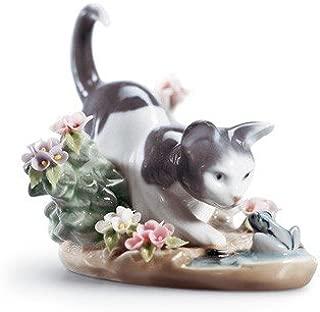 Lladro Porcelain Kitty Confrontation