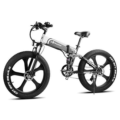 Best electric mountain bike roundup - #4: Wallke Folding Electric Mountain Bike