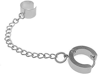Vintage Tassel Ear Cuff Earring for Women Men - Crawler Climer Long Chain Small Stud Earring Jewelry
