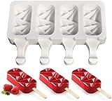 AIYIXUE Molde para paletas caseras para helado, helado, helado, moldes para helados, moldes para helados, moldes para paletas de hielo