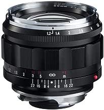 Voigtlander 50mm f/1.2 Leica M Nokton ASPH Lens