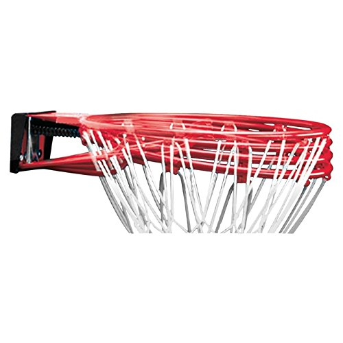 Spalding Herren Basketball NBA Slam Jam Rim, red, One size