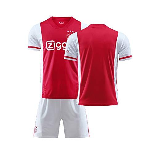 LCHENX-2020-2021 AJAX Football Club Ziyech #22 Fans Conjunto de Camisetas de fútbol para Ropa de Entrenamiento de fútbol para niños Adultos,C,10~11Years