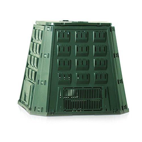 Prosperplast 19550 Kompostierer IKST400Z 400 Liter, grün