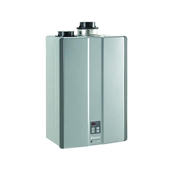 Rinnai RUC98iN Ultra Series Indoor Natural Gas Tankless Water Heater, Twin Pipe 4 INDOOR installation only. Fuel Type: NATURAL GAS. Concentric or PVC venting option Up to 0.96 Energy Factor/Up to 0.92 Uniform Energy Factor