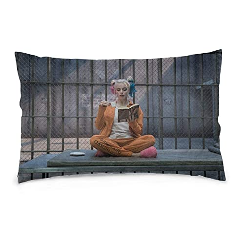 qidong Funda de almohada decorativa de payaso para decoración del hogar de 50 x 70 cm