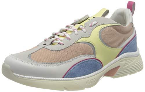 HUGO Damen Gilda_Runn_C Sneaker, Light Beige273,37 EU