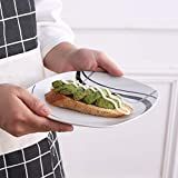 VEWEET Tafelservice 'Fiona' aus Porzellan 60 teilig | Kombiservice beinhatlet Kaffeetassen 175 ml, Untertasse, Dessertteller, Speiseteller und Suppenteller| Komplettservice für 12 Personen - 7
