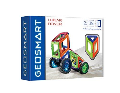 GeoSmart Lunar Rover pcs Geo 211 Fahrzeug Mond – 30-teilig Mischhaut mit Rollen, Multicolour