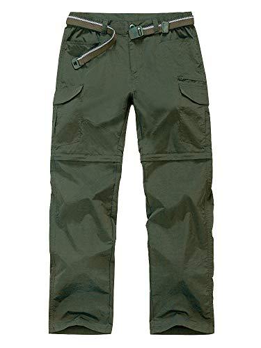 Men's Outdoor Quick Dry Convertible Lightweight Hiking Fishing Zip Off Cargo Work Pant