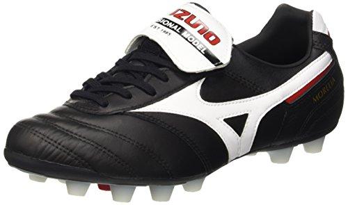 Mizuno Herren Morelia Ii Md Fußballschuhe, Black (Black/White/Red), 47 EU
