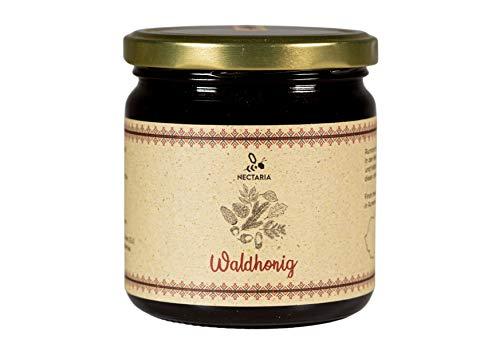 Waldhonig (500 g) I kräftig, würzig, herb, natürlich, ohne Zusätze I Naturprodukt aus traditioneller Imkerei der Karpaten