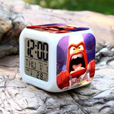 Toy Alarm Clock Alarm Clock Digital Watch led Color Changing Electronic Desk LCD Monitor Alarm Clock