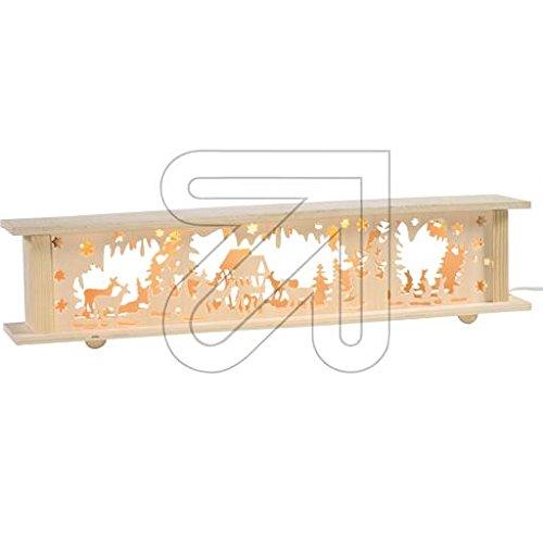 Lichterbogenerhöhung/Schwibbogenerhöhung mit Beleuchtung (Wald)