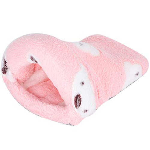Mothinessto Pequeñas Mascotas Anidando Hermosas Mascotas Pequeñas Convenientes para Dormir(Pink, S)