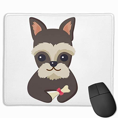 Hundeposter-und-Haustier-mit-Knochen-Mauspads bieten einzigartige personalisierte Geschenke-Mauspads