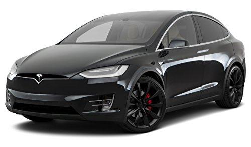 2016 Tesla X P90D, All Wheel Drive 4-Door, Titanium Metallic