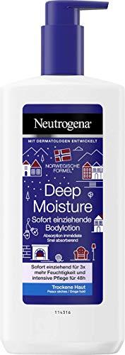 Neutrogena Norwegische Formel Deep Moisture Bodylotion – 3 x 400ml