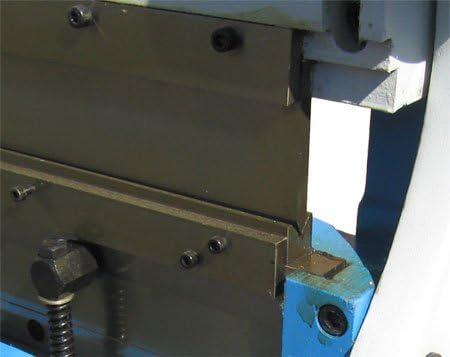 MH GLOBAL 52 inch Sheet Metal Shear Finger Brake Roll Bending ...
