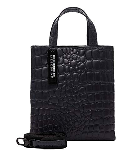 Liebeskind Paper Bag S Handtasche Leder 22 cm