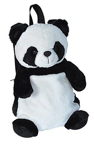 Wild Republic 19355 20881 Panda Plüschtier, Kuscheltier Rucksack, Stofftier, 36 cm, Multi