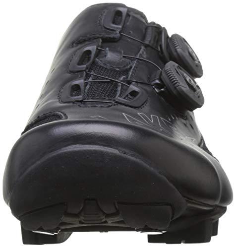 Lake MX237-X - Zapatillas de Ciclismo Unisex - Adulto, Negro, Talla 42.5