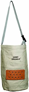 Derby Originals Leather Vented Heavy Duty Duck Canvas Feed Bags - Multiple Sizes and Colors Available