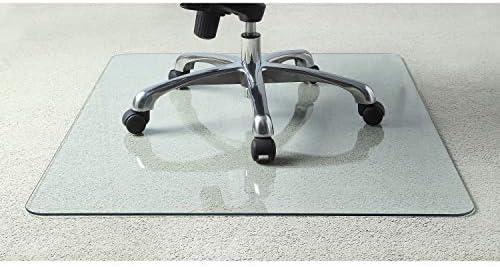 Best Lorell Tempered Glass Chairmat Chair Mat, 50\