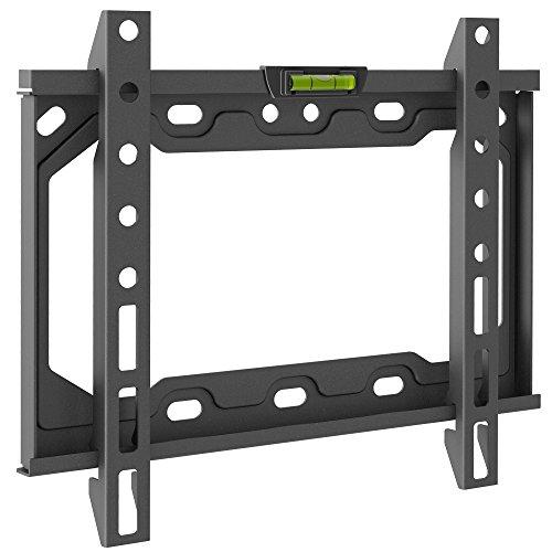 Barkan E202 - Supporto da parete fisso VESA fino a 200 x 200 mm, per TV a schermo piatto da 26 a 39 pollici, 66 - 99 cm