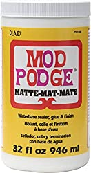 Mod Podge craft glue and sealer for decoupage projects