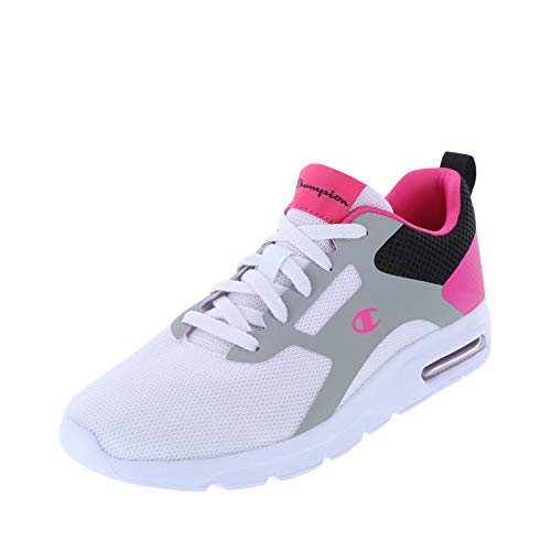 Champion White Pink Women's Concur Runner 6 Regular