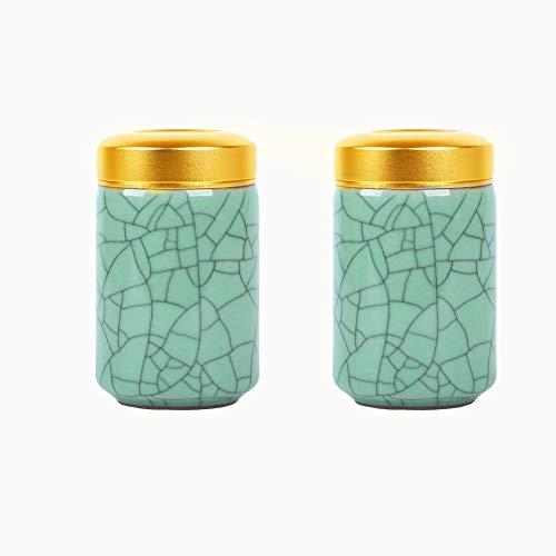 ForeverWill Urna de cremación de cerámica pequeña para cenizas conmemorativas funerarias urnas para perro humano, gato y cenizas tarro para compartir