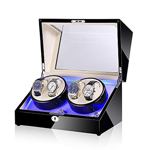 HJG Shake Table Mute Mechanische Horloge String Swayer Draaitafel Horloge Automatische Winding Opbergdoos Horloge doos