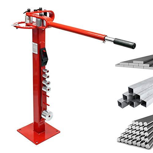 Kompaktes Biegegerät mit Fuß Biegemaschine für Flachstahl, Rundstahl & Vierkantstahl
