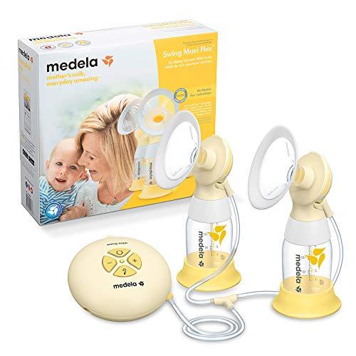 Medela Swing Maxi Flex sacaleches eléctrico doble,extractor de leche con embudo Flex(talla SyM...