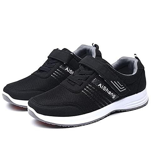 WSZMD Casual Comfort Calzado Calzado Plano De Seguridad Anillo Antideslizante Zapatos Deportivos Zapatos De Tela Casual,A-35