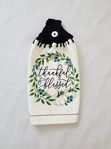 Top 10 Best Selling List for kitchen towels with crocheted tops