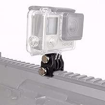 Weatlake 20mm Picatinny Gun Rail Mount Gun Adapter Kit for Cameras Hunting Rifle Tripod Black