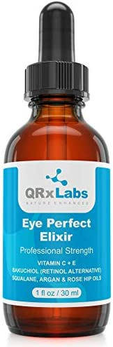 Eye Perfect Elixir With Bakuchiol Retinol Alternative Pure Argan and Rosehip Oils Squalane Vitamin product image