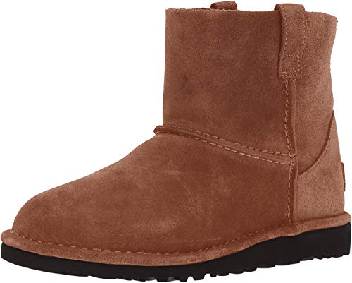 UGG Women's Classic Unlined Mini Slouch Boot, Chestnut, 9 M US