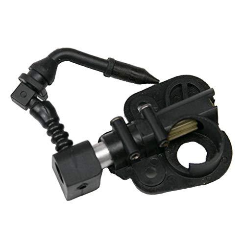 FLAMEER Bomba de aceite de motor de Gas apto para la motosierra socio 350 352 390 391 401 420 422, negro, fácil de instalar