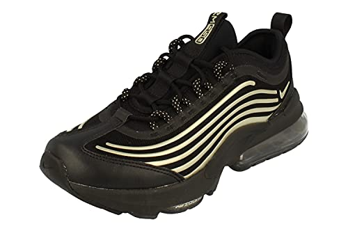 Nike Air Max ZM950 GS Running Trainers DD3039 Sneakers Scarpe (UK 6 US 6.5Y EU 39, Black Metallic Gold Star 001)