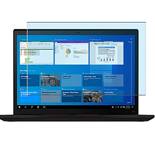 Vaxson Protector de Pantalla de Cristal Templado Anti Luz Azul, compatible con Lenovo ThinkPad X13 Gen 2 G2 13.3' [solo área activa] 9H Película Protectora