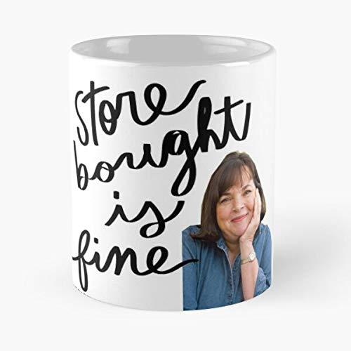 Storebought Garten Food Meme The is Barefoot Network Funny Contessa Ina Fine The Best Taza de café de cerámica blanca de 325 ml