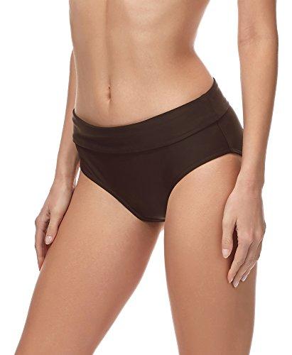 Merry Style Damen Bikini Slip MSVR5 (Braun (8157), 36)