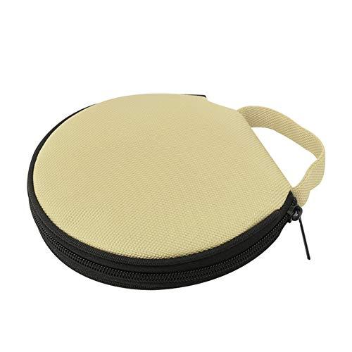 Steellwingsf solide Farbe r& Oxford Tuch Auto zu Hause 20 Scheibe CD-Aufbewahrungstasche Tasche Rei?Verschluss-Tasch-beige
