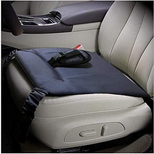 Mulove - Cojín de asiento de coche para mujeres embarazadas, cinturón con almohadilla transpirable ajustable y suave