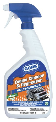 Gunk EBT32 Engine Cleaner and Degreaser - 32 oz.